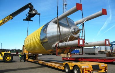 Delivery of oversized tanks from Randers (DK) to Tikhoretsk (RU)