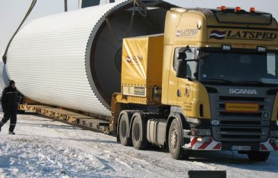 Delivery of beer tanks from Randers (DK) to Lyskovo (RU)