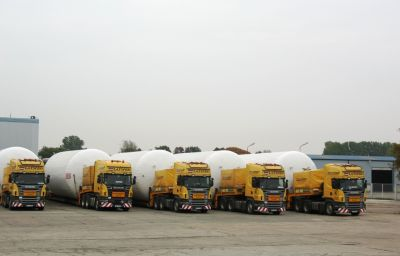 Delivery of beer tanks from Liepaja (LV) to Vladikavkaz (RU)