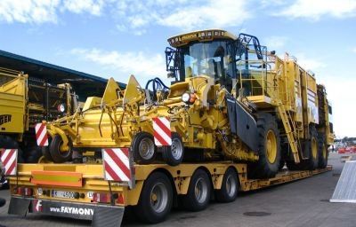 Ropa harvesters delivery