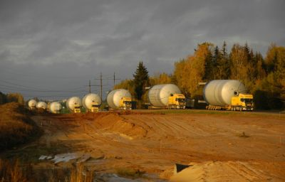 Delivery of beer tanks Randers (DK) – Minsk (BY) 1st lot