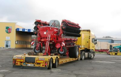 Seeders delivery from Soest (DE) to Russia