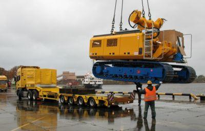 Drilling rig delivery Liepaja (LV) – Sochi (RU)