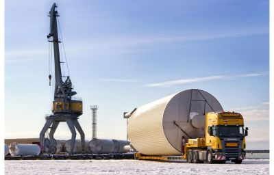 Delivery of oversized tanks from Liepaja (LV) to Kiev (UA)