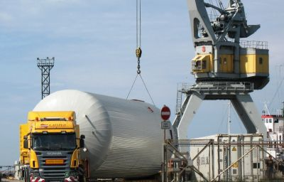 Delivery of oversized tanks from Liepaja (LV) to Lviv (UA)